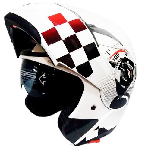 casco moto abatible ghb 158 speed