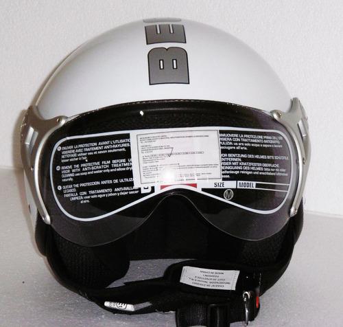 casco moto abierto beon