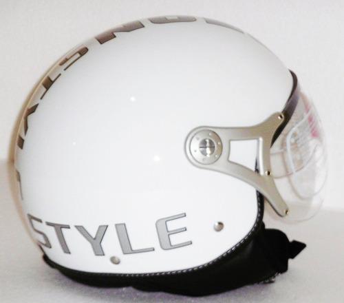 casco moto abierto beon style