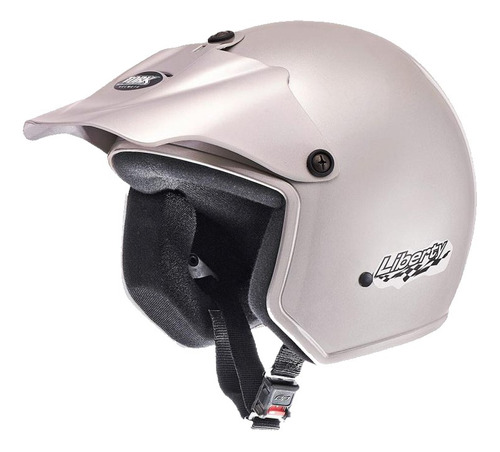 casco moto abierto protork liberty gris t 58