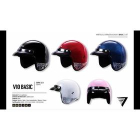 Casco Moto Abierto Vertigo V10
