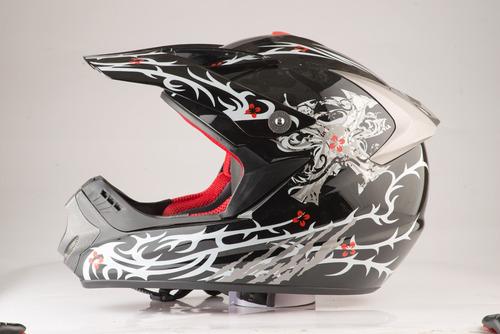 casco moto cross edge