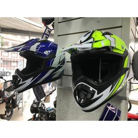 Casco Moto Cross Shiro Mx 734 Bravo