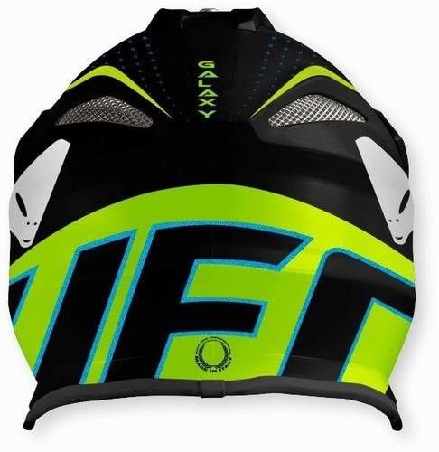 casco moto cross ufo galaxy interceptor 2 limit solomototeam