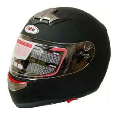 casco moto doble visor negro brillante