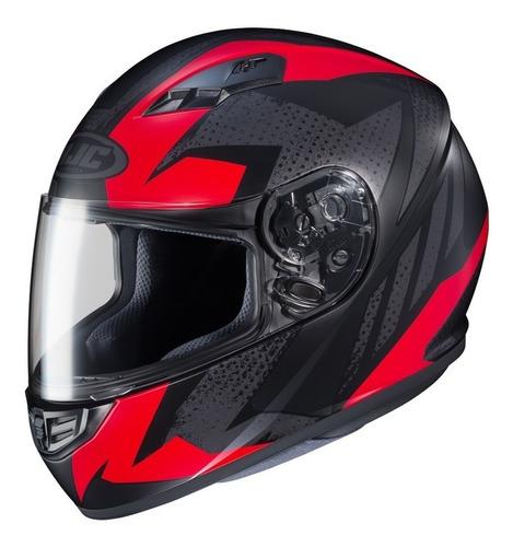 casco moto hjc integral cs-15 treague pintura mate