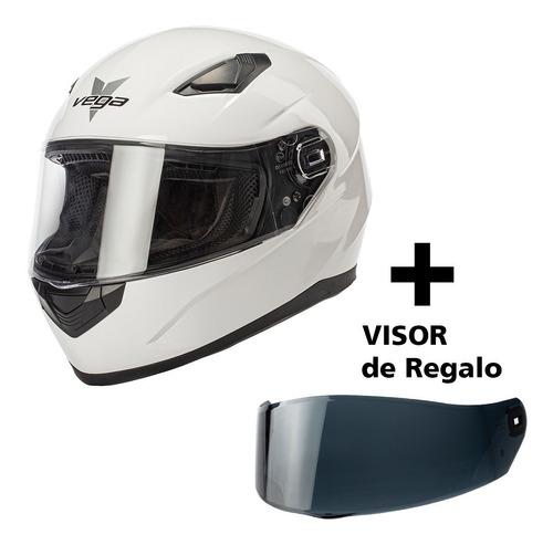 casco moto integral calle pista vega ultra full