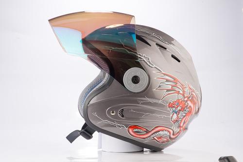 casco moto integral edge