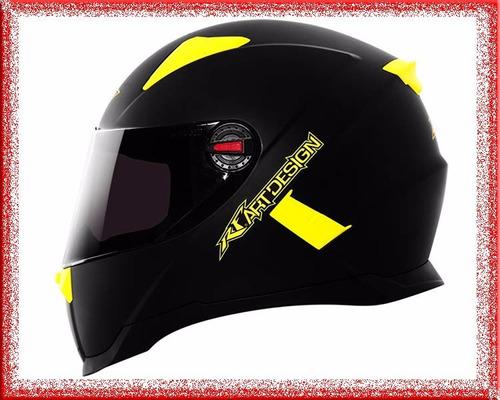 casco moto integral rocket force certificado europa col.2016