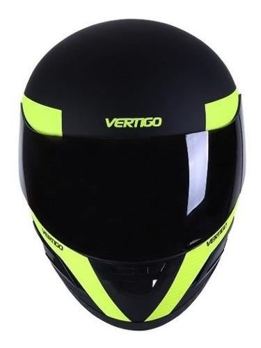 casco moto integral vertigo dominium + regalo.  en gravedadx