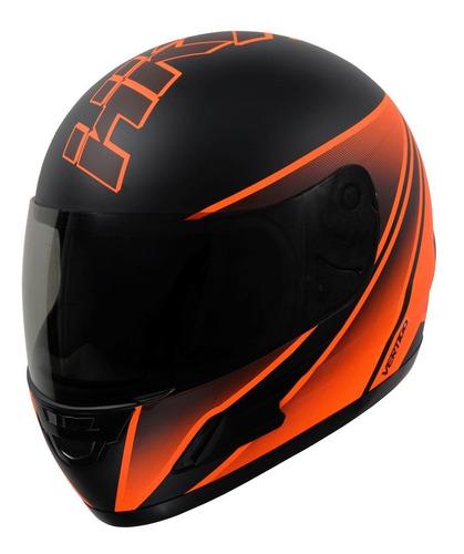 casco moto integral vertigo hk7 mate. en gravedadx