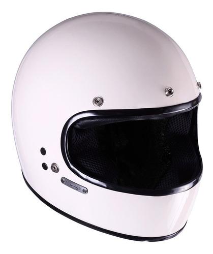 casco moto integral vertigo vintage sheriff. en gravedadx