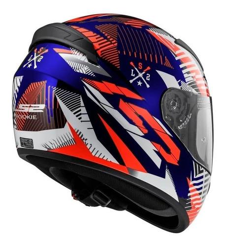 casco moto ls2 352 tribal red white blue 2020 en devotobikes