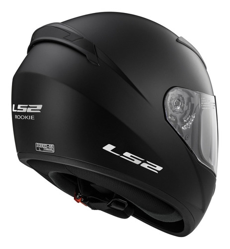 casco moto ls2 ff352 negro matte