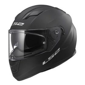 Casco Moto Ls2 Integral 320 Evo Negro Mate Doble Visor