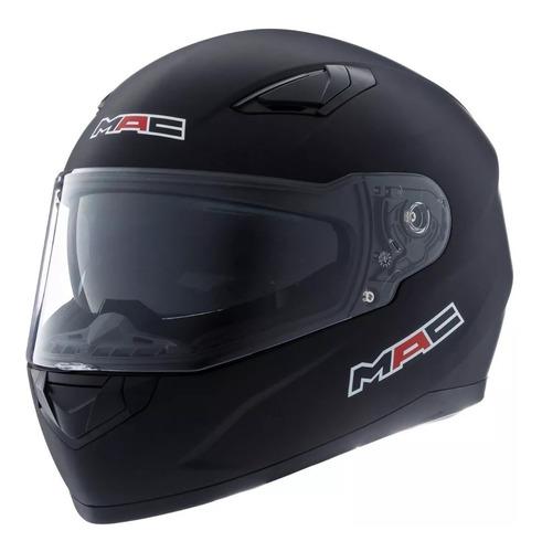 casco moto mac gravity by ls2 negro doble visor devotobikes