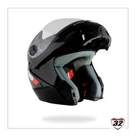 Casco Moto Rebatible Hawk Rs5  Negro Con Envio / Motos 32