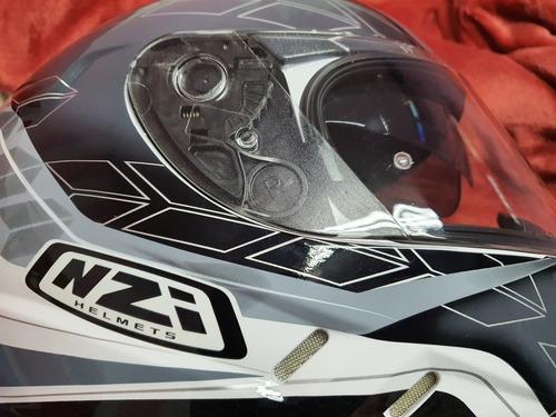 casco motocicleta symbio 2 duo dart nzi large