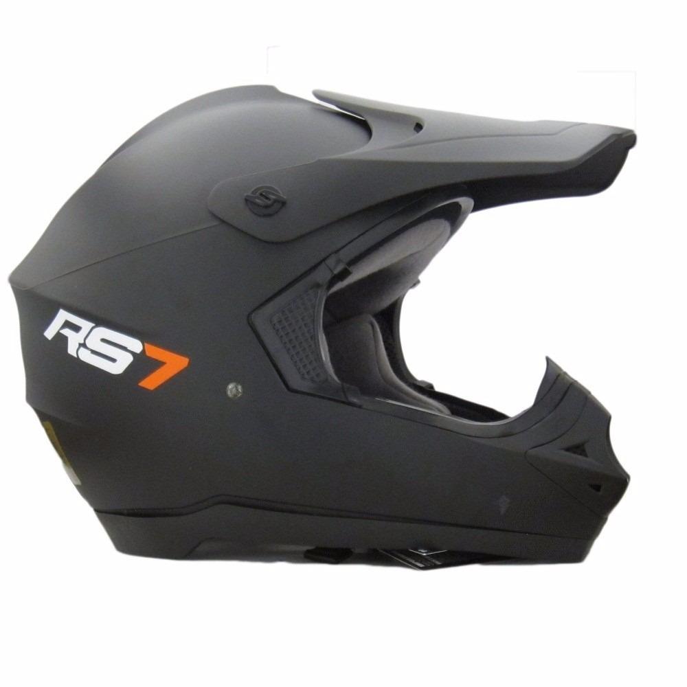 2adf6716b0477 casco motocross enduro hawk rs7 negro mate-motoweb. Cargando zoom.