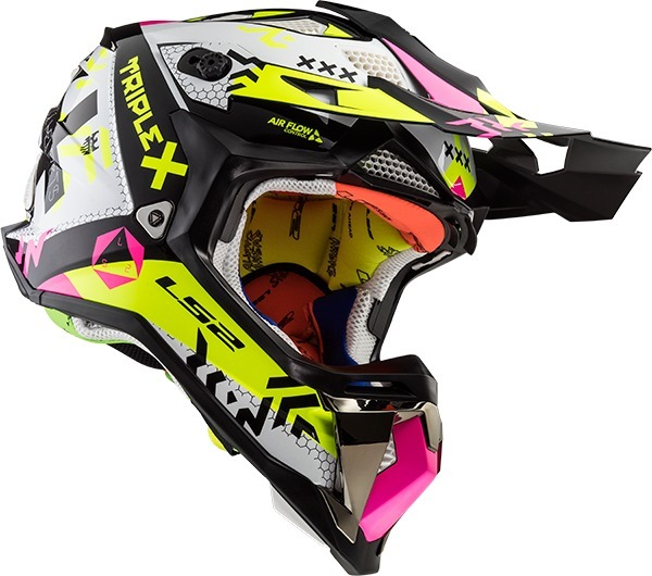 3a389202ab96a Casco Motocross Ls2 Mx470 Subverter Triplex Pink Devotobikes ...
