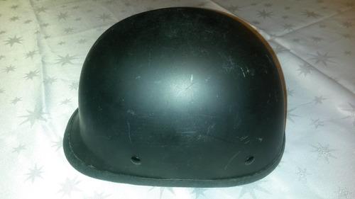 casco motorista negro mate casi nuevo, importado.