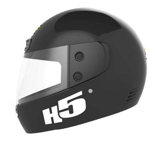 casco motos halcon h5 integral_ estilo callejero.