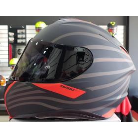 Casco Mt Helmets Targo Doppler A0 Rojo Fluor Mate