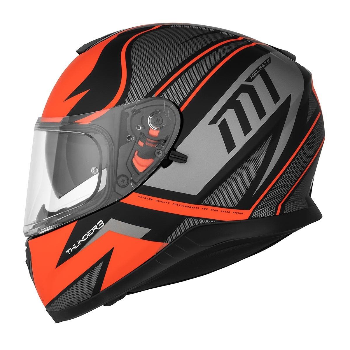 b78d8c31 Casco Mt Helmets Thunder 3 Sv Cap A Doble Visor Cuotas - $ 6.064,34 ...