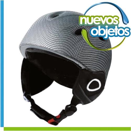 casco natway snowboard ski bici orejas desmontables respirab