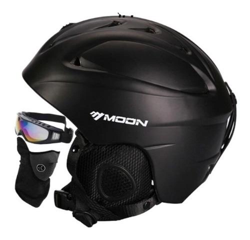 casco nieve, snowboard, ski, moon  antiparras envio gratis
