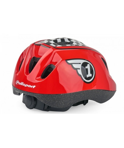 casco niño race xs rojo polisport (envió gratis rm)