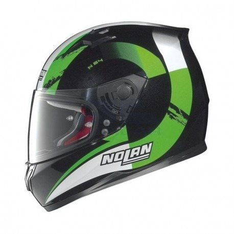 casco nolan n64 twirl integral moto verde automoto lanus