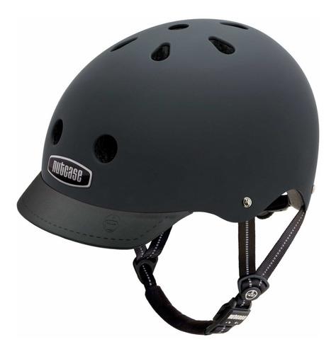 casco nutcase  street blackish matte