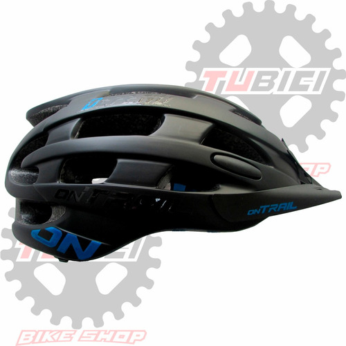 casco on trail bicicleta montaña ruta ciclismo