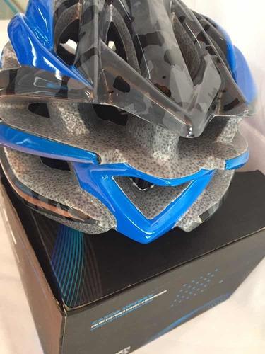 casco optimus azul/negro