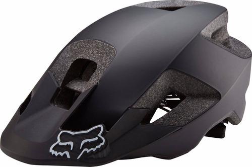 casco para bici modelo ranger negro fox para mtb, enduro