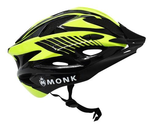casco para bicicleta ciclista monk ciclismo varios colores