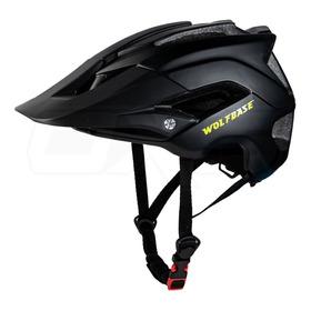Casco Para Bicicleta Wolfbase Enduro Mtb Xc Dh Certificado