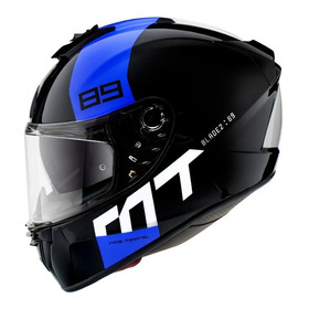 Casco Para Moto / Mt Helmets Blade 2 Sv Con Lentes - 89