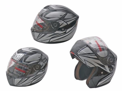 casco para moto abatible