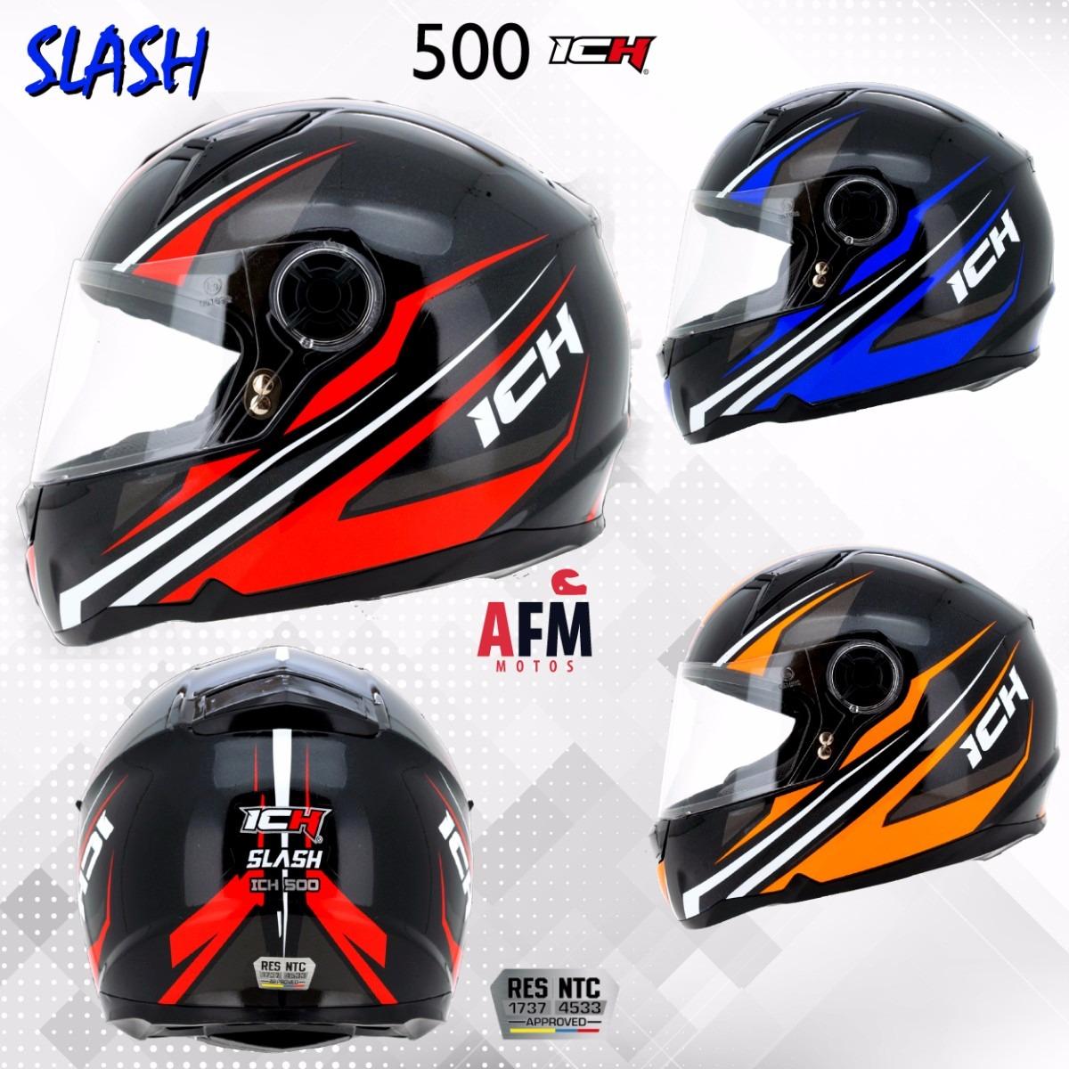 032365779e333 Casco Para Moto Certificado Ich 500 + Eco Regalo -   89.900 en ...