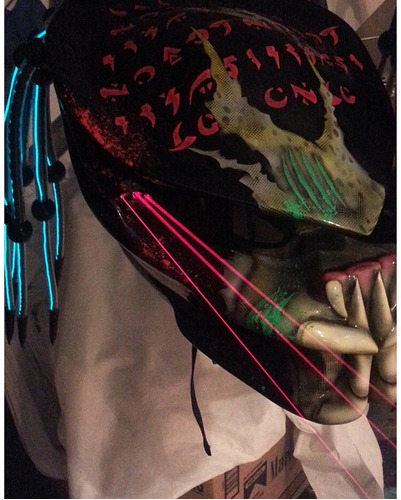 casco para moto depredador