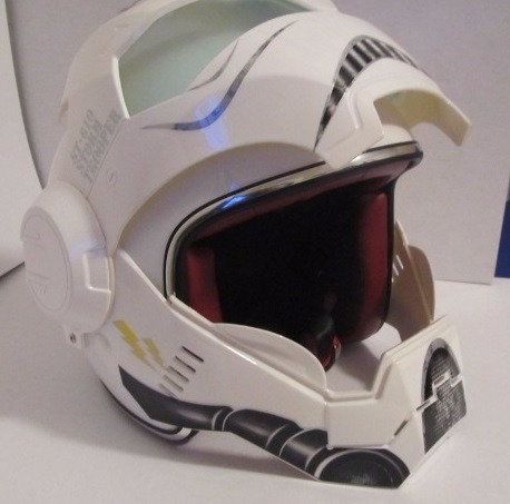 casco para moto tipo star wars stormtrooper talla mediano 1 en mercado libre. Black Bedroom Furniture Sets. Home Design Ideas