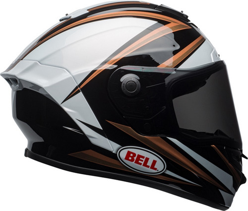 casco para motocicleta bell star torsion mips cobre/negro s