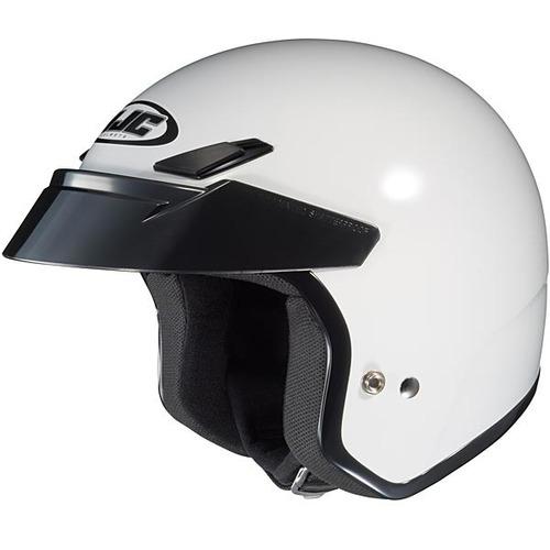 casco para motocicleta hjc abierto