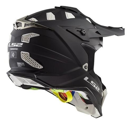 casco para motocross ls2 mx 470 subverter enduro devotobikes