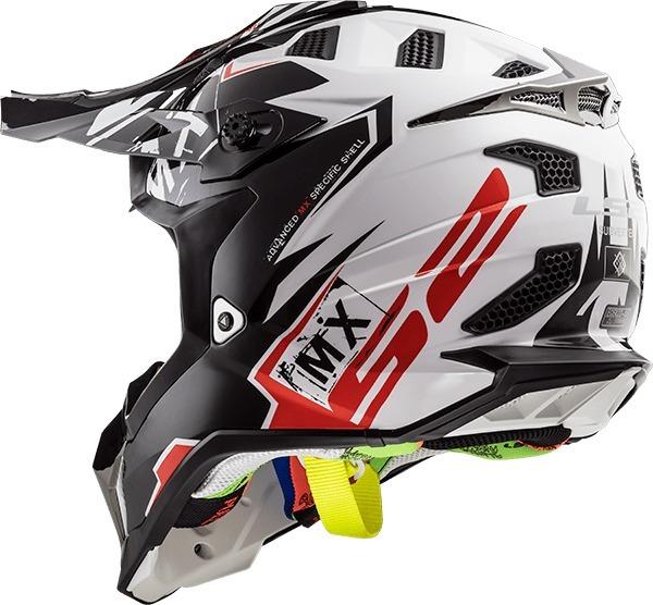 36e6d1b8de3e0 Casco Para Motocross Ls2 Mx470 Subverter Emperor Nuevo 2018 ...
