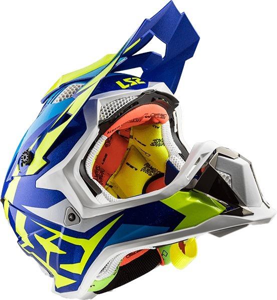 ca856a1122eeb Casco Para Motocross Ls2 Mx470 Subverter Nimble Devotobikes ...
