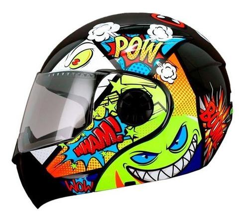 casco para niño infantil ghira comic abatible certificado