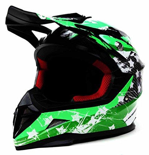 casco para niños motocross youth dot approved - moto yema